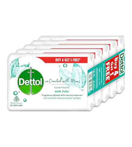 Dettol Tulsi Bath and hand wash soap