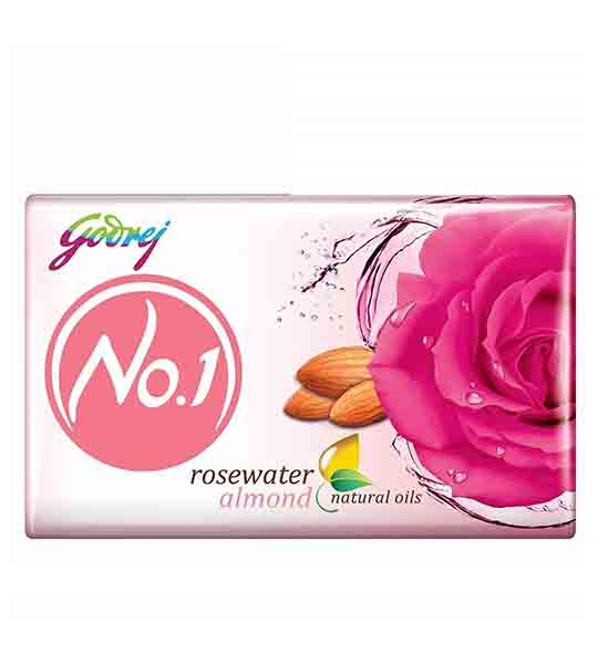 Godrej No. 1 Rose Water Almond