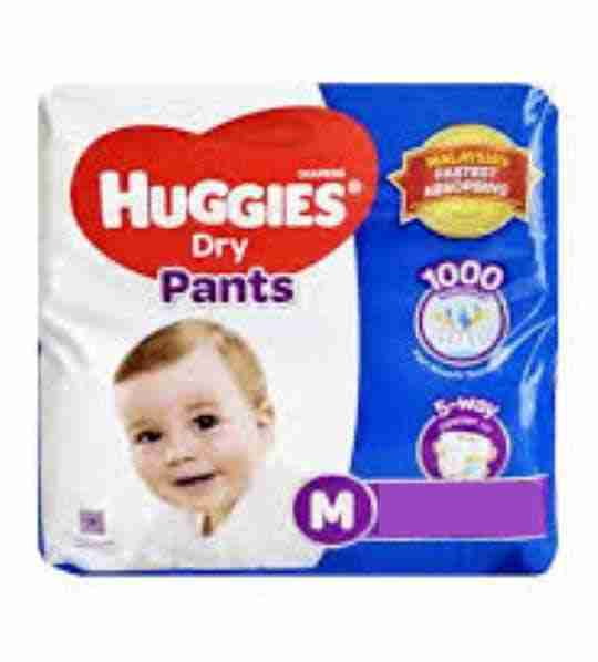 Huggies Baby Dry Medium