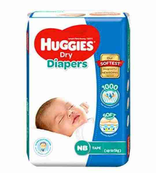 Huggies Baby Dry Small