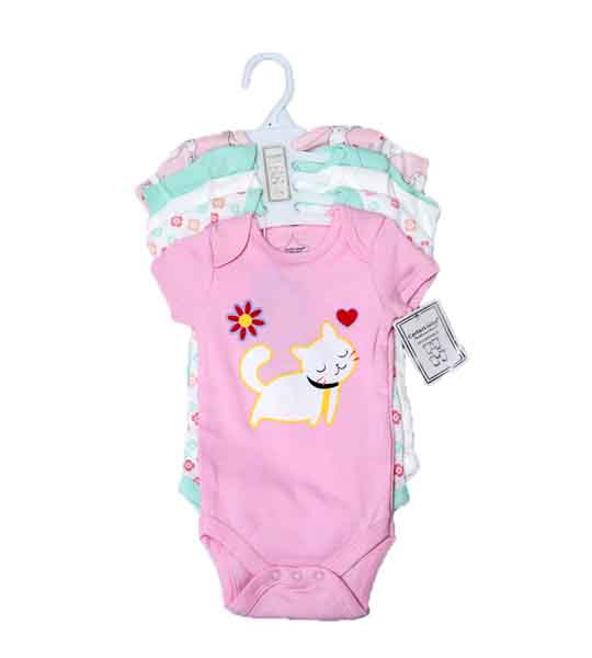 MOM NEEDS BABY BODY SUIT - 5 PCS SET