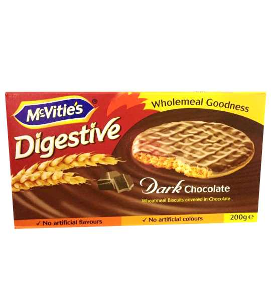 MacVities Digestive Dark chocolate