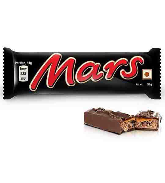 Mars Milk Chocolate 51gm