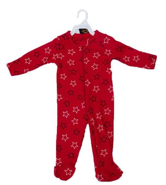 Mom Needs Baby Romper with Towel & Socks(Red Star)