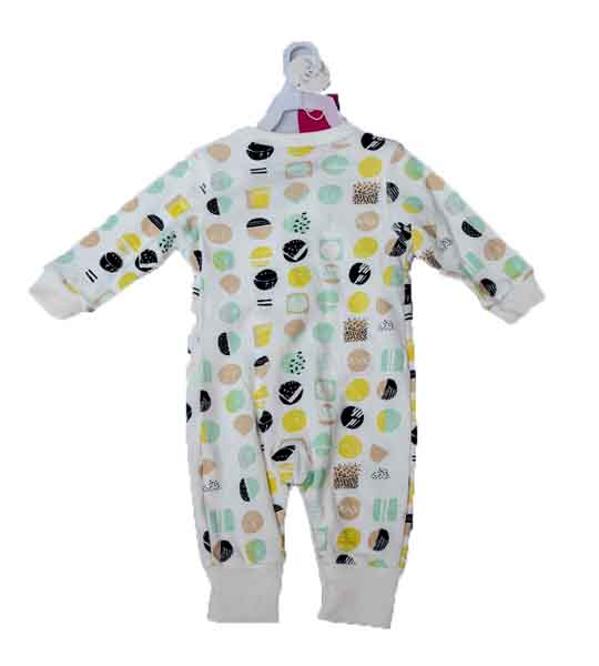 Mom Needs Baby Romper with Towel & Socks(White)
