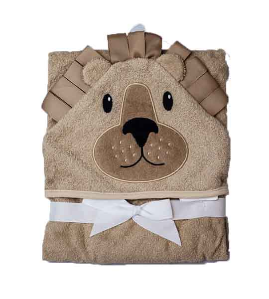 Mom Needs Baby Towel Hooded(Brown)