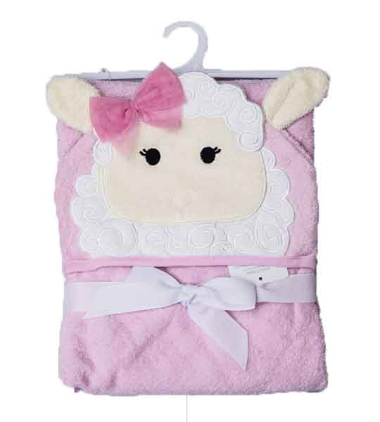 Mom Needs Baby Towel Hooded(Pink)