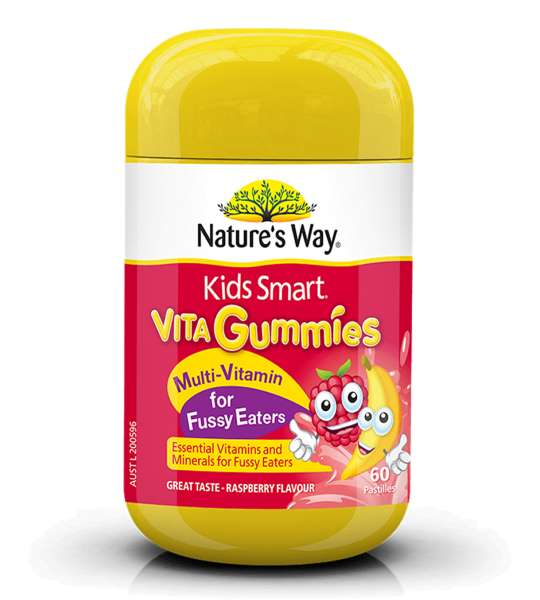 Natures way kids smart multi vitamin for fussy eaters