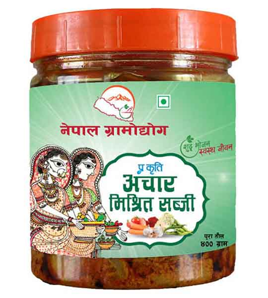 Nepal Gramodhyog Mix Pickle 400 gm