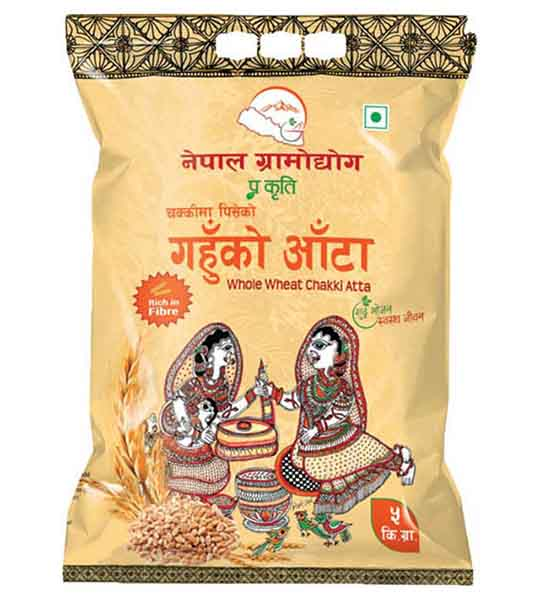 Nepal Gramodhyog Whole Wheat Chakki Atta 5 kg