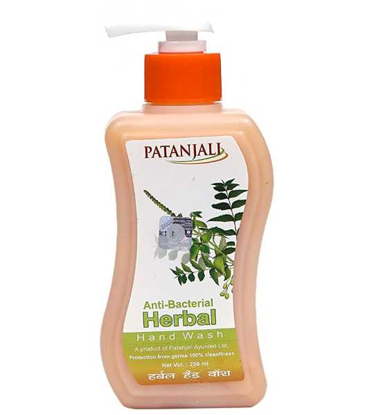 Patanjali Anti Bacterial Herbal Hand Wash