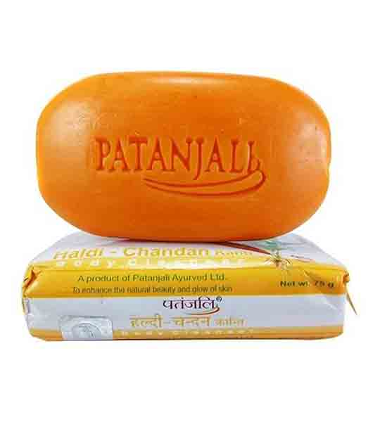 Patanjali Haldi Chandan Kanti Body Soap 75 gm