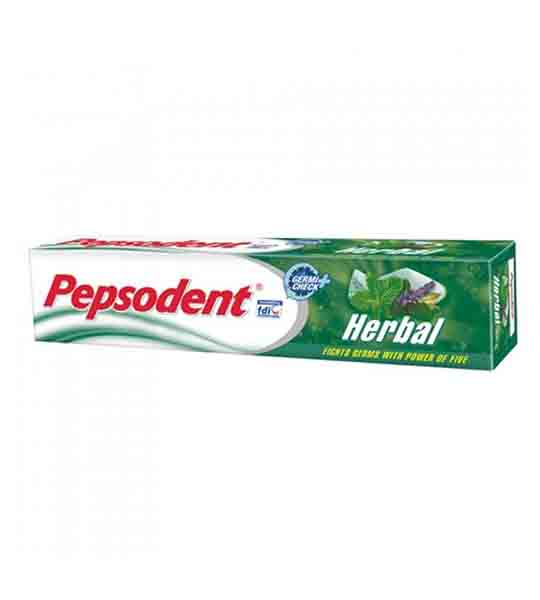 Pepsodent Herbal Toothpaste, herbal based tooth paste