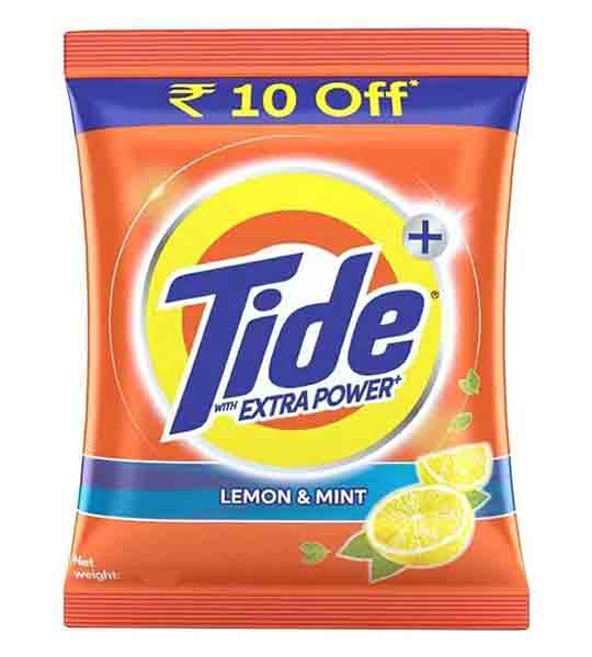 Tide Detergent washing powder with lemon and mint