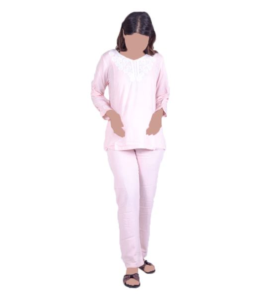 Women Pajamas Set Pink
