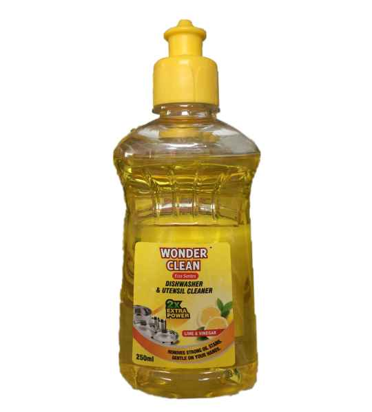 Wonder Clean Dishwasher & Utensil Cleaner Yellow