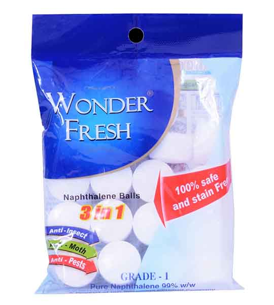 Wonder Fresh Napthalene Ball
