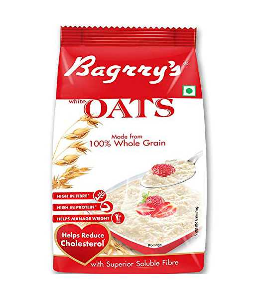 bagrrys white oats pouch 500gm