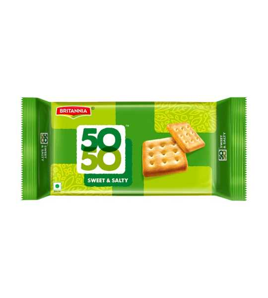 britannia 50 50 salty and sweet 150gm