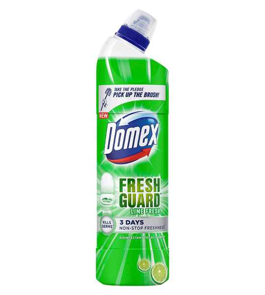 domex lime fresh toilet cleaner 750ml