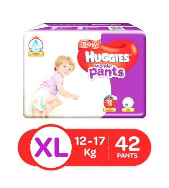 huggies baby pants XL 42