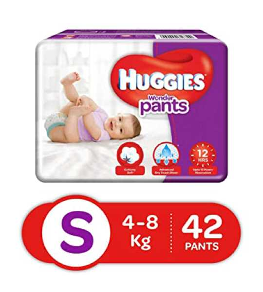 huggies dry baby diaper s 42pants
