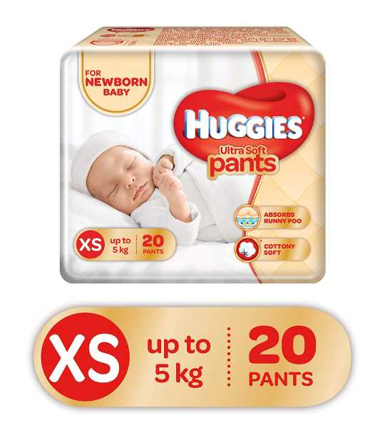 huggies pants XS 20