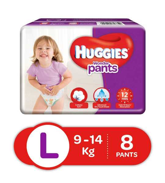 huggies wonder pants l5