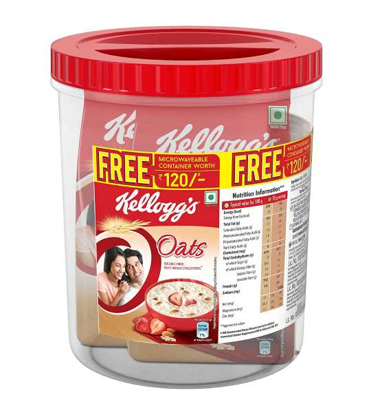 kelloggs oats 900gm