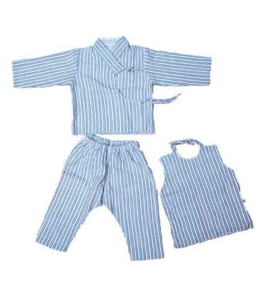 koroma baby blue and white set medium