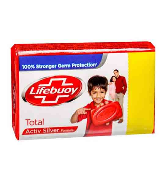 lifebuoy total active silver 95gm