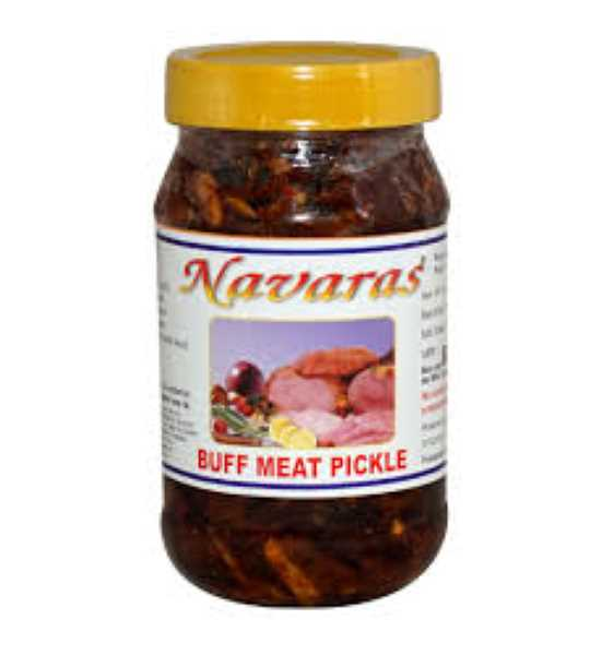 navaras buff meat pickle 400gm