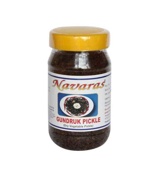 navaras fish and gundruk pickle 200gm