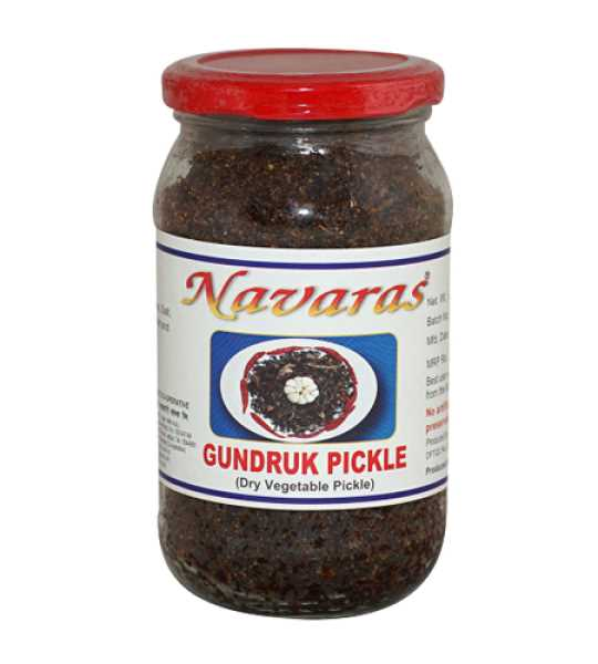 navaras gundruk dry vegetable pickle 200gm