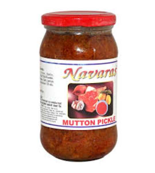 navaras mutton pickle 400gm