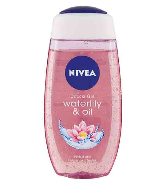 nivea waterlily and oil shower gel 250ml