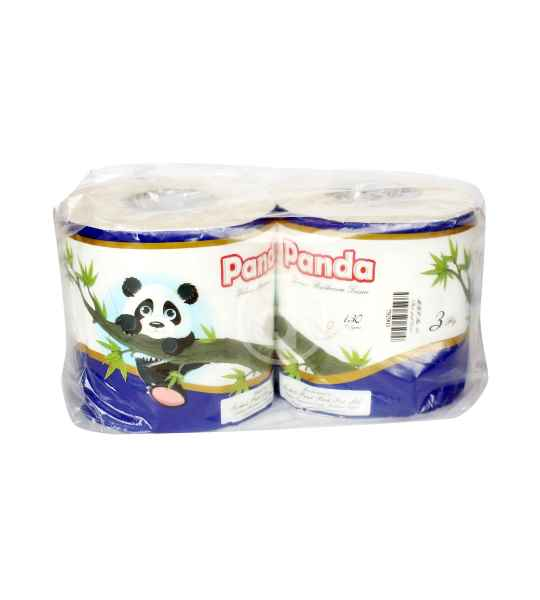 panda delux toilet paper blue 130gm 3ply 2roll