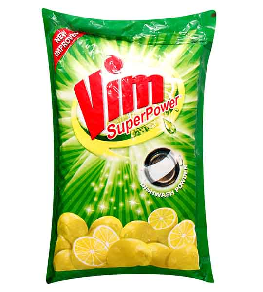 vim super power dish wash powder 500gm