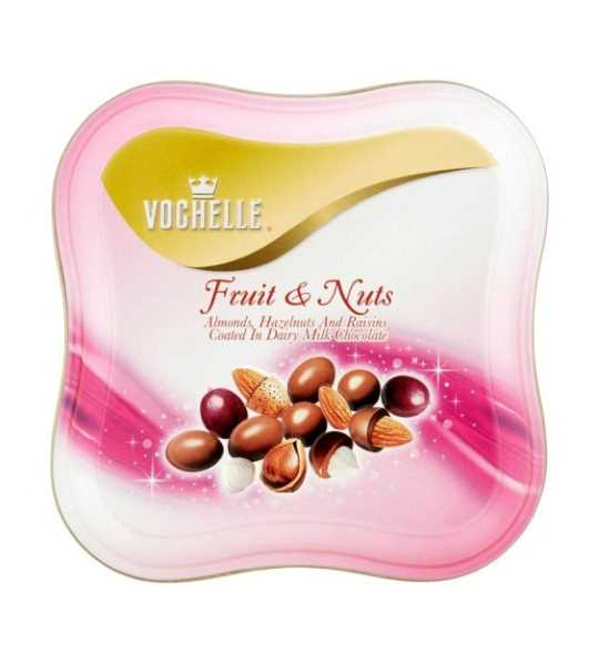 vochelle fruits and nuts chocolate box 125gm