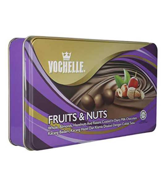 vochelle fruits and nuts chocolate box 205gm