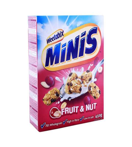 weetabix minis fruit and nuts 450gm