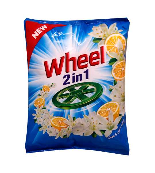 wheel 2in1 clean and lemon fresh detergent powder 950gm